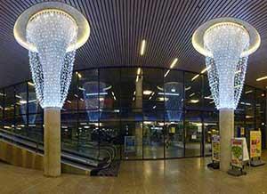 Feestverlichting winkelcentra