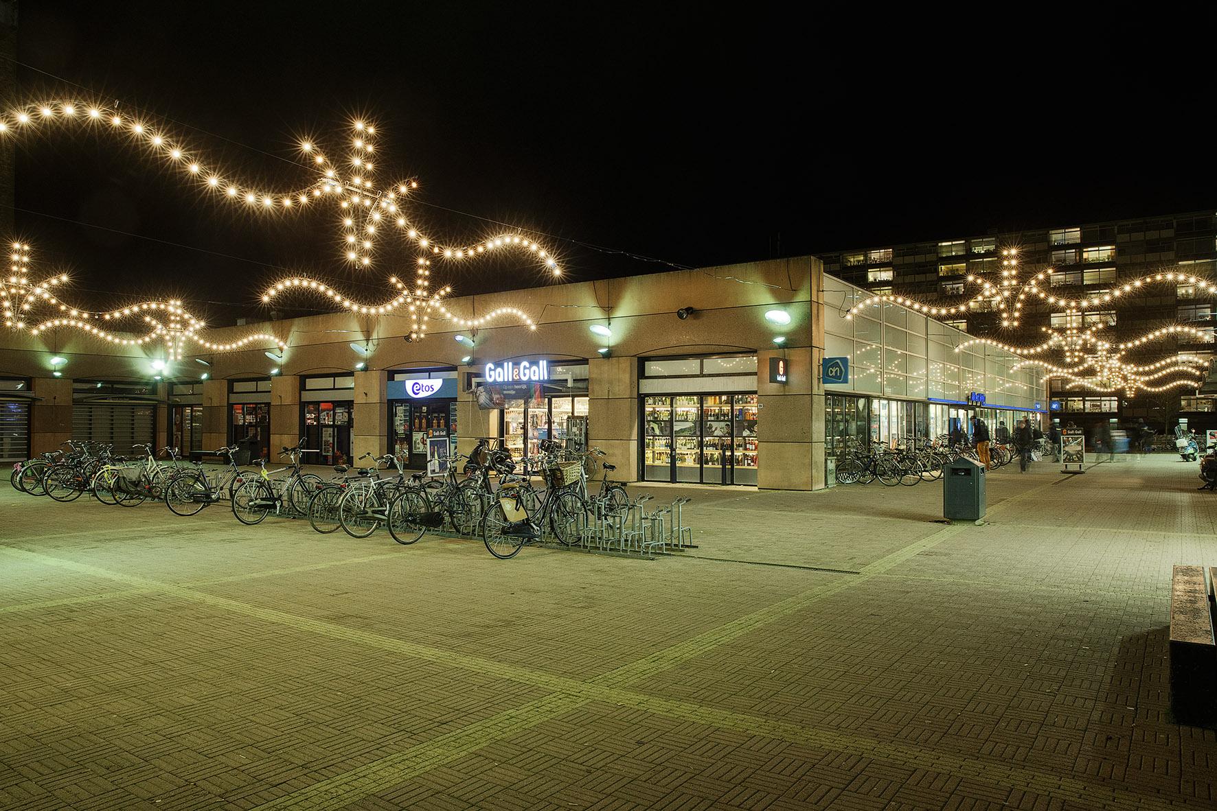 Groningen Winkelplein Selwerd